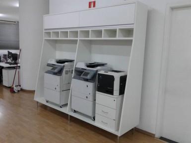 [Móveis para escritório na Capital de SP, Armário para impressoras]