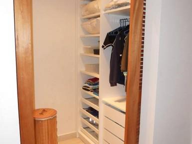 [Dormitório Planejado em Santana Zona Norte SP, closet sem portas]