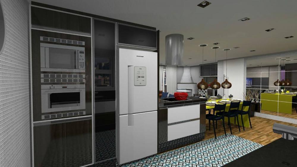 Projeto para cozinha planejada e sala em SP - Foto 1