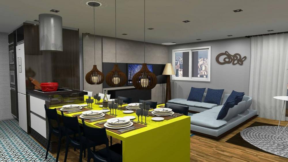 Projeto para cozinha planejada e sala em SP - Foto 2