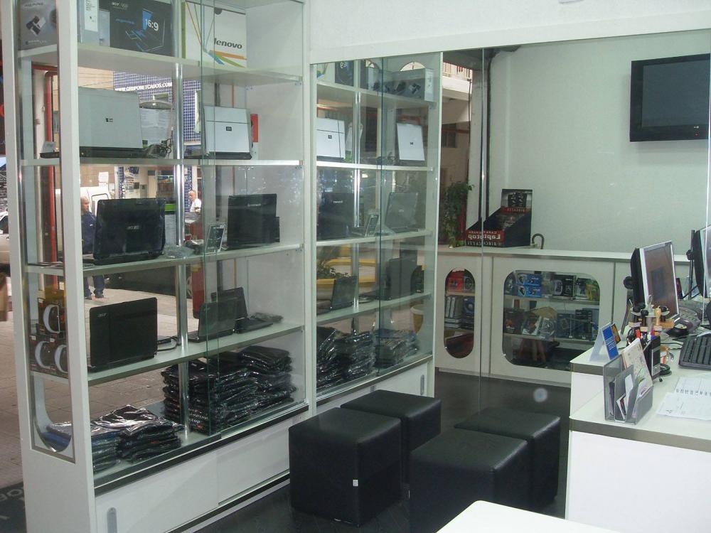 Móveis para loja Santa Ifigenia SP, balcões de loja - Foto 1