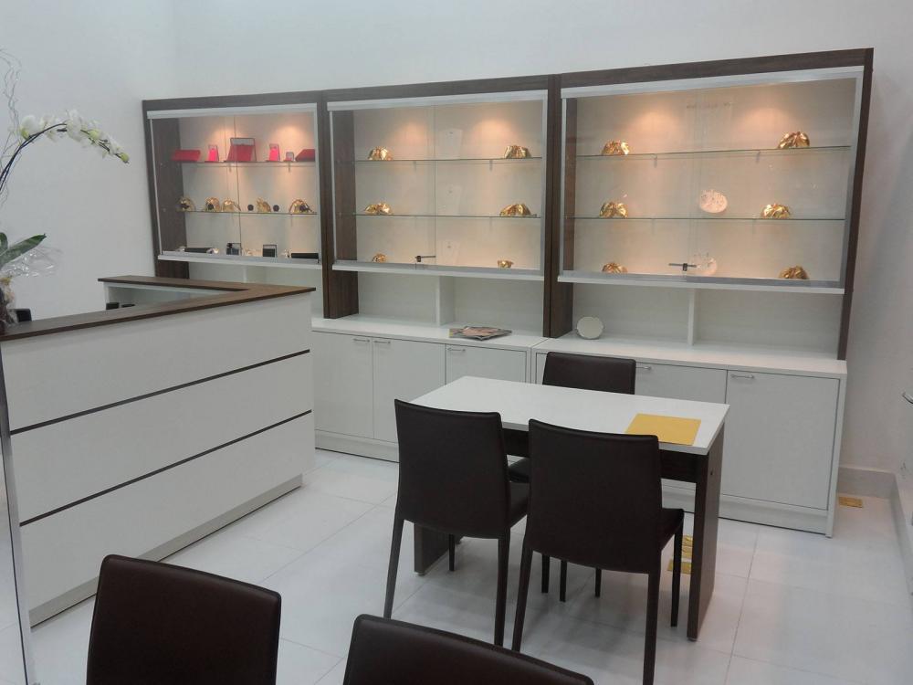 Móveis para lojas centro de Guarulhos SP, balcão de atendimento - Foto 1