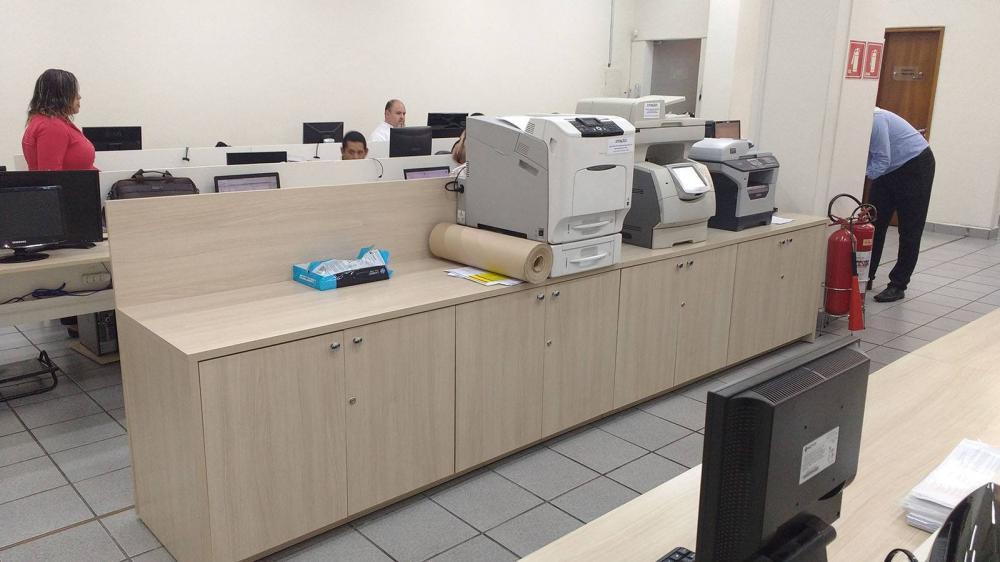 Móveis de escritório no Tucuruvi SP, mesa estação de trabalho  - Foto 1