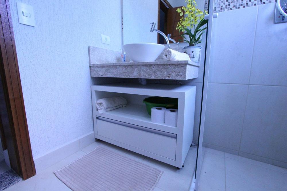 Gabinete de banheiro planejado Moóca SP em MDF Vintage com tamponamento de 45mm  - Foto 1