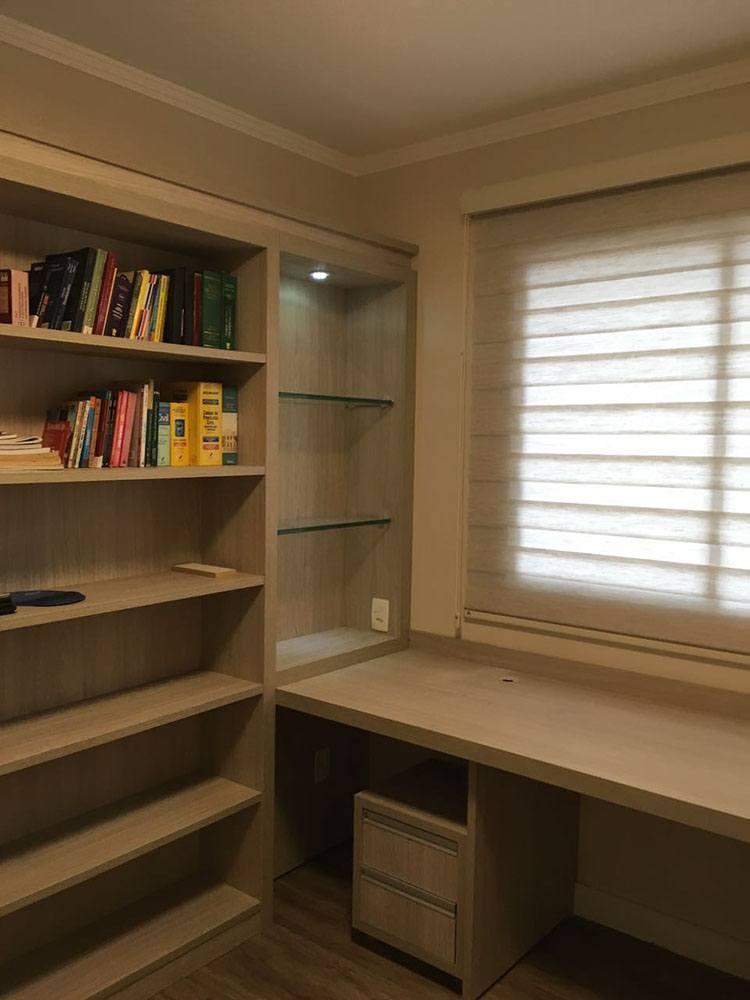 Dormitório Planejado na Moóca SP com painel cabeceira de cama com iluminação embutida - Foto 1