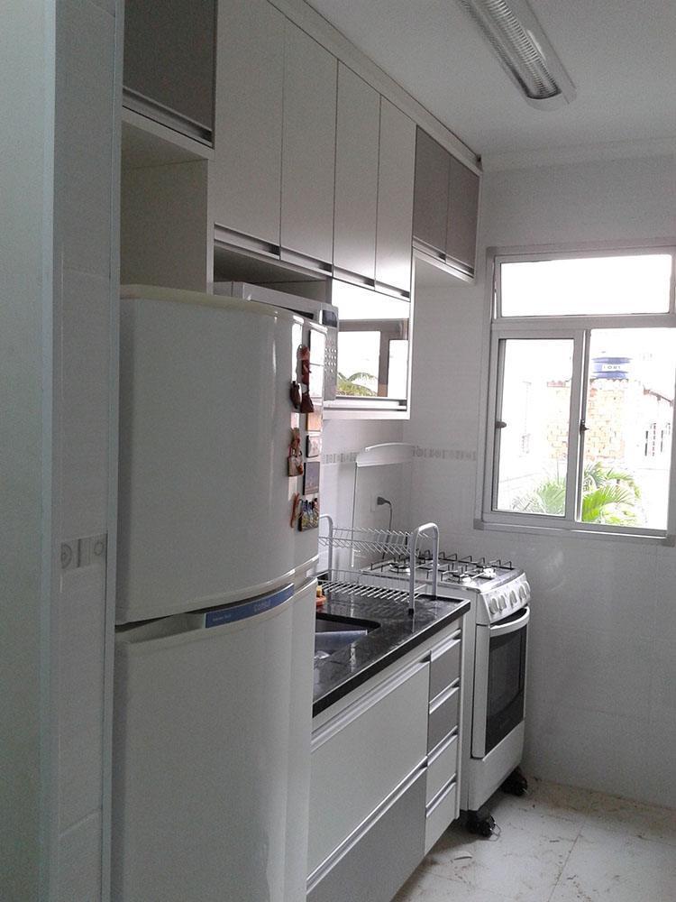 [Cozinha planejada na Vila Maria SP para apto pequeno]