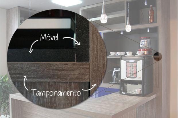 O que é tamponamento em móveis planejados