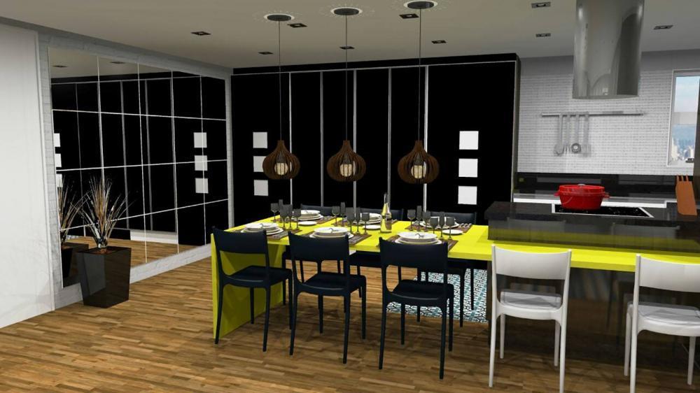 Projeto para cozinha planejada e sala em SP - Foto 3